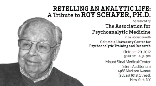 Roy schafer a new language for psychoanalysis and sexuality